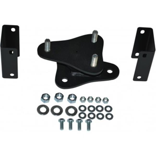 MBRP Exhaust 131042 Spare Tire Bracket Kit Fits 97-06 TJ Wrangler - image 1 de 1