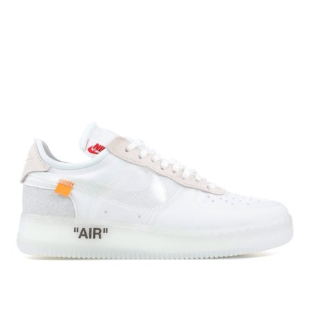 Nike - Men - The 10 : Nike Air Force 1 Low 'Off-White' - Ao4606-100 - Size  12