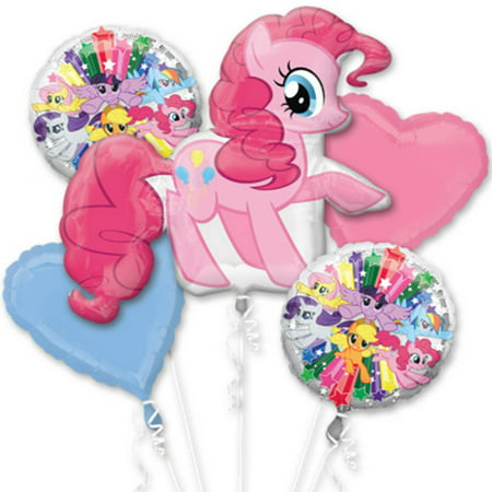 Little Pony Pinkie Pie Character Authentic Licensed Theme Foil Balloon Bouquet](Pony Balloon)