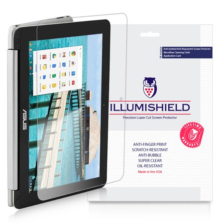 2x iLLumiShield Clear Screen Protector for Asus Chromebook Flip