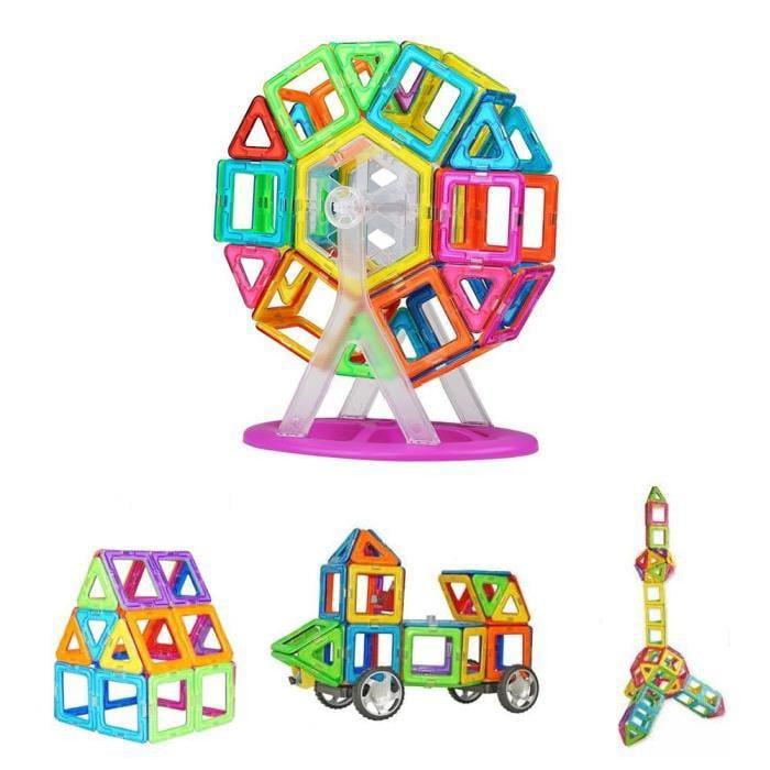 Torubia Magnetic Building Blocks Set,113 Pcs Magnetic Con...