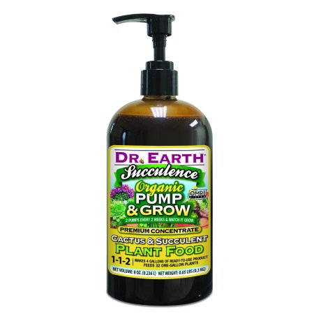 Dr. Earth Organic & Natural Pump & Grow Succulence Cactus & Succulent Plant Food, 8 oz ()