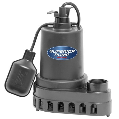 1/2 Hp Manual Sewage Pump (Superior Pump 1/2 HP Sump)