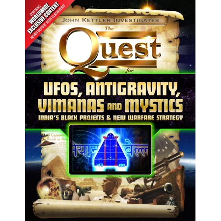 UFOs, Antigravity, Vimanas and Mystics - eBook