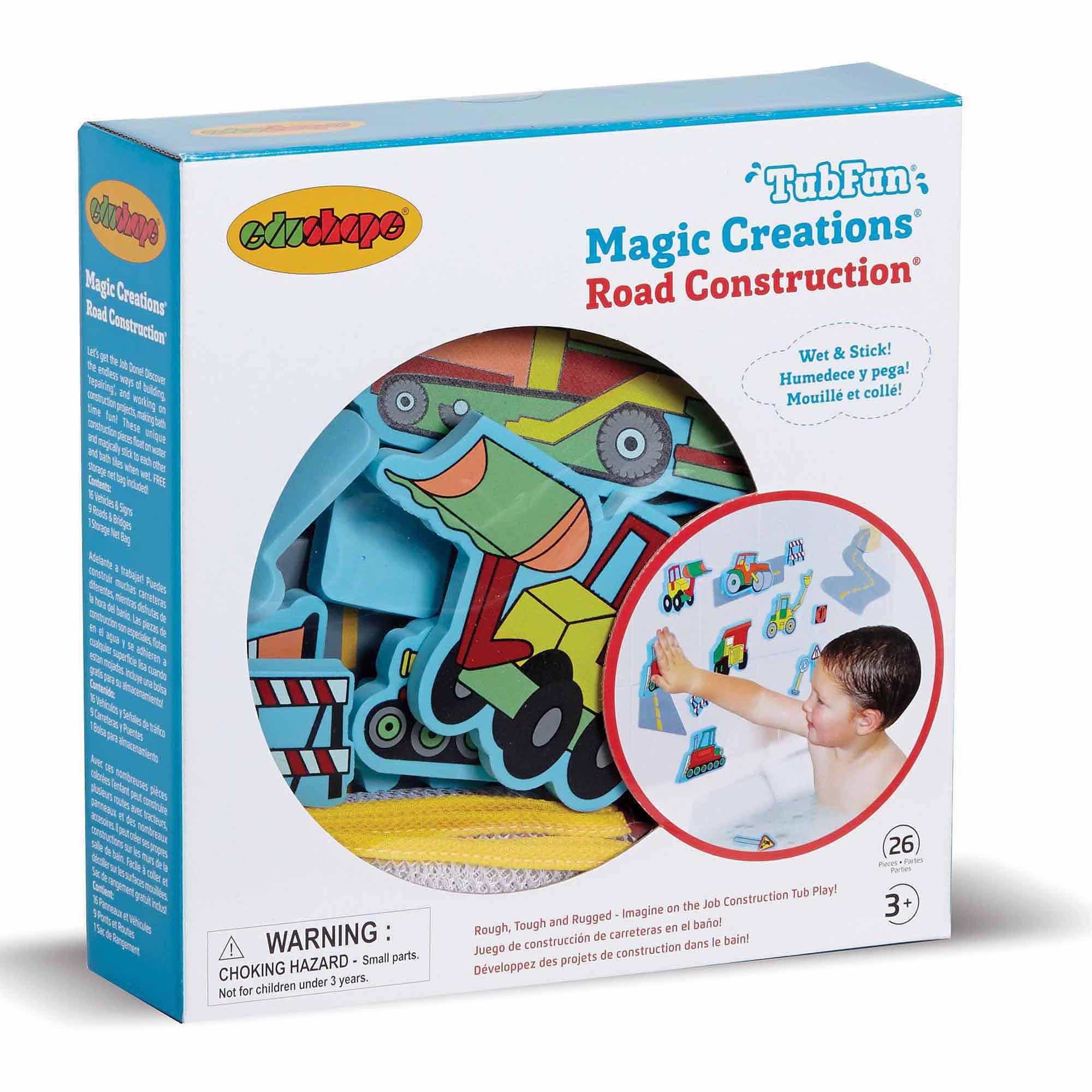 Magic Creation, Road Construction by Edushape