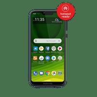 Total Wireless Moto g7 Optimo Maxx, 32GB Blue - Prepaid Smartphone