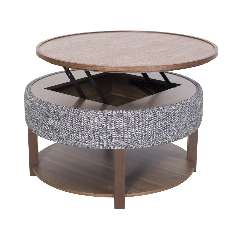 Neville Lift Top Round Storage Coffee Table Walmart Com Walmart Com [ 3000 x 3000 Pixel ]
