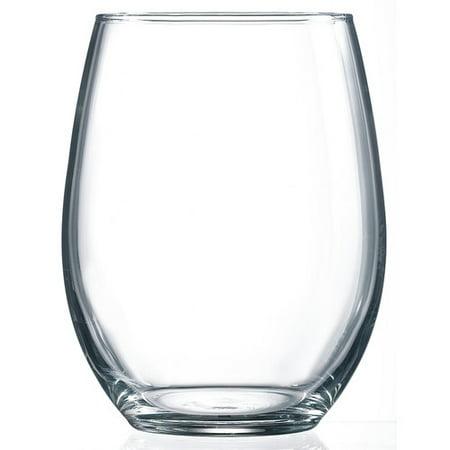 luminarc cachet 21 oz stemless wine glass set of 4. Black Bedroom Furniture Sets. Home Design Ideas