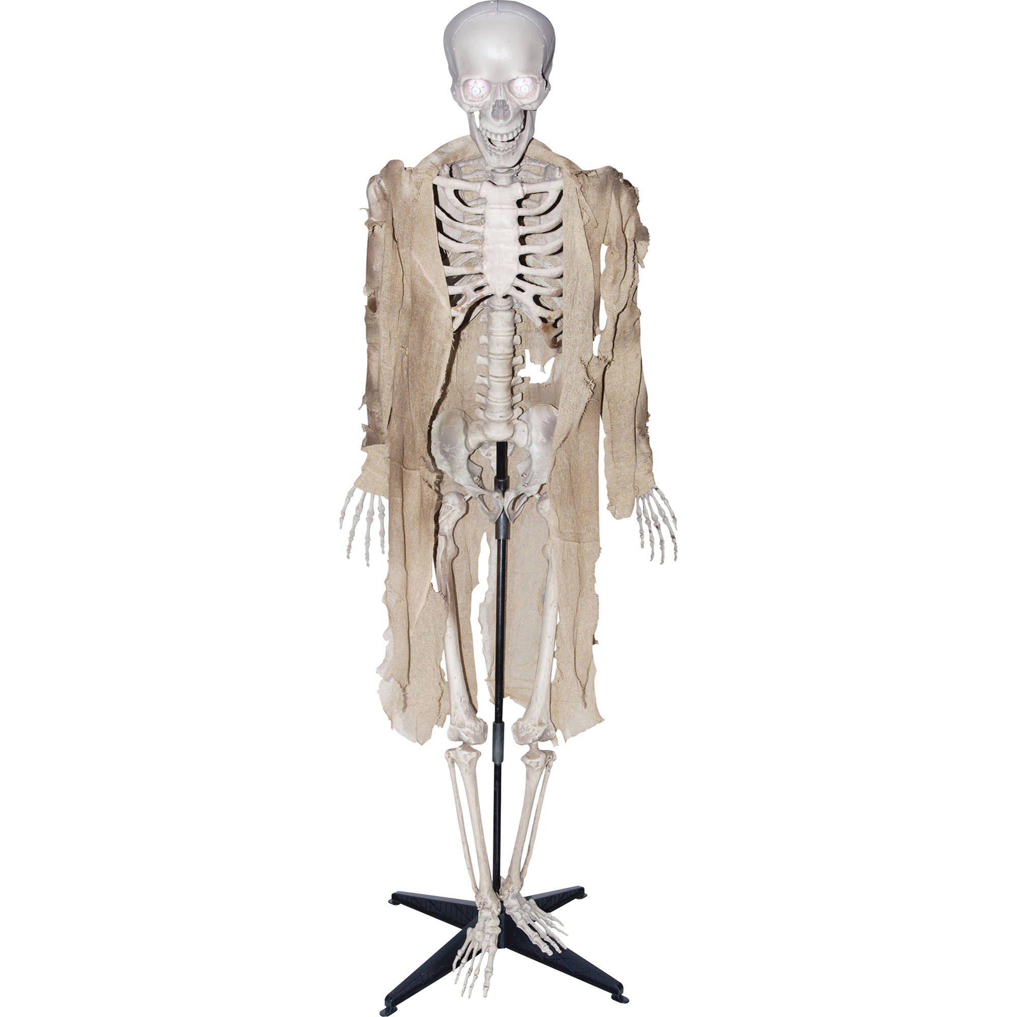 talking skeleton halloween decoration walmartcom - Skeleton Halloween Decoration