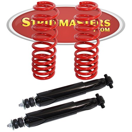 Mercury Grand Marquis Differential - Strutmasters Rear Air Suspension Conversion Kit with Shocks for a 2003-2011 Mercury Grand Marquis, Ford Crown Victoria, and Lincoln Town Car