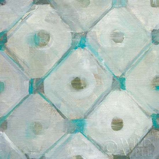 Tile Element I Stretched Canvas - Danhui Nai (24 x 24)