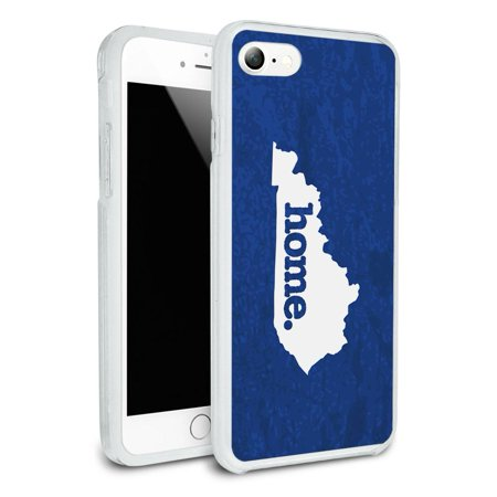 Kentucky KY Home State Protective Slim Hybrid Rubber Bumper Case for Apple iPhone 7 - K State Powercat