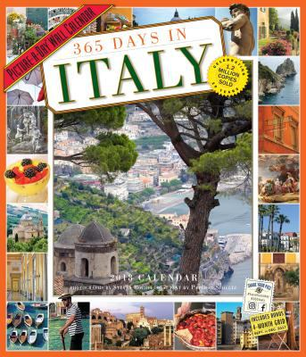 365 Days in Italy Picture-a-day 2018 Calendar - Walmart.com
