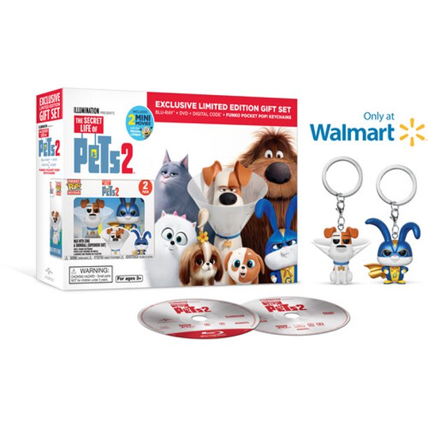 The Secret Life Of Pets 2 Blu Ray Walmart Exclusive Walmart Com Walmart Com
