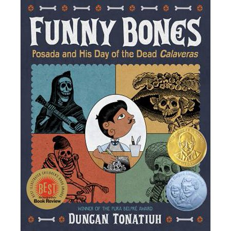 Funny Bones: Posada and His Day of the Dead Calaveras (Hardcover)](Day After Halloween Funny)