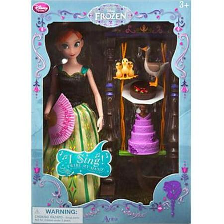 Disney Frozen Anna Deluxe Singing Doll Set](Frozen Ana)
