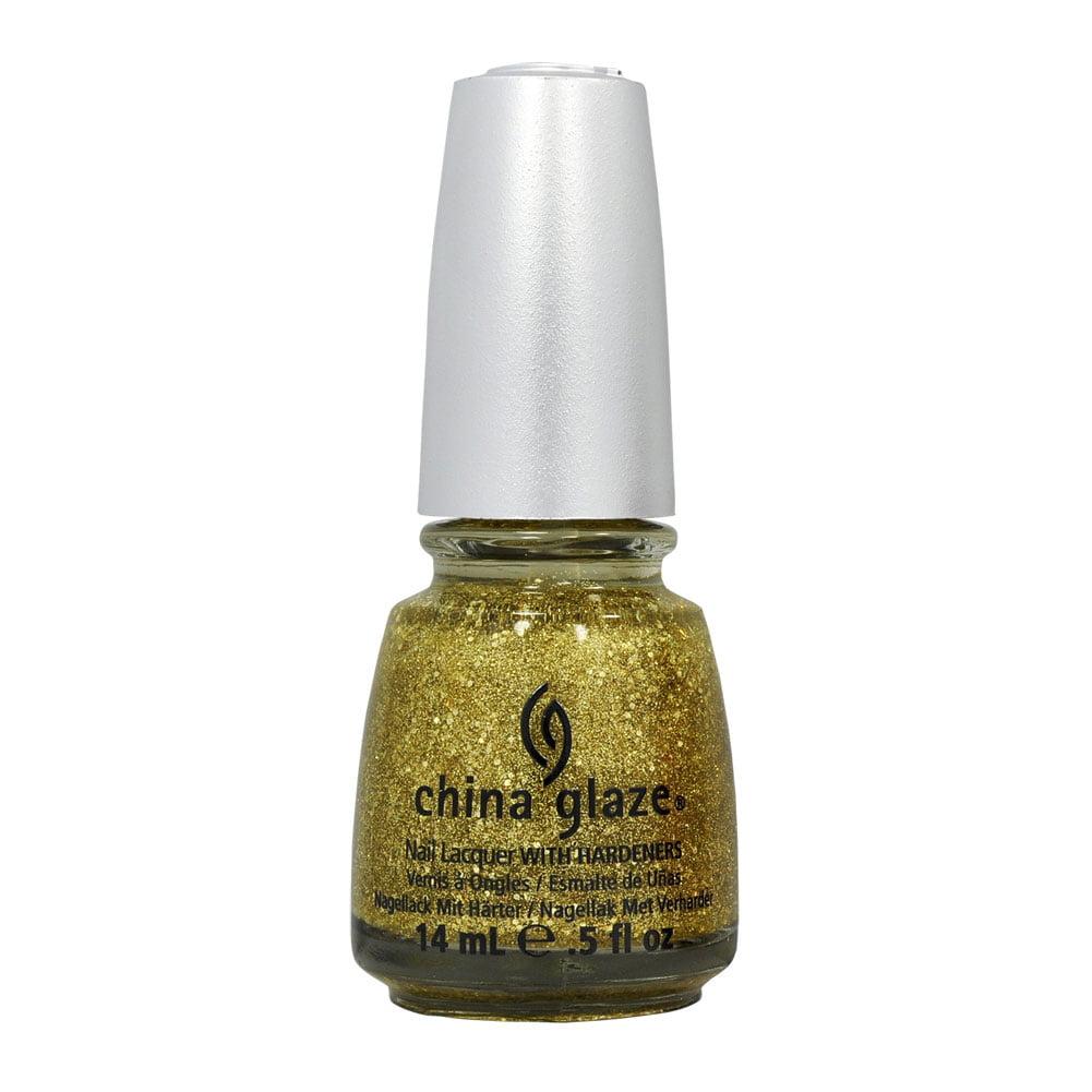 China Glaze 0.5oz Nail Polish Lacquer Clay Purple, BLONDE BOMBSHELL , 80769