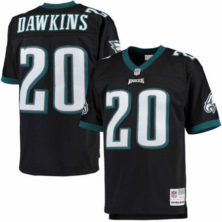 sports shoes cb1ea d2638 Brian Dawkins Philadelphia Eagles Mitchell & Ness Retired Player Replica  Jersey - Black