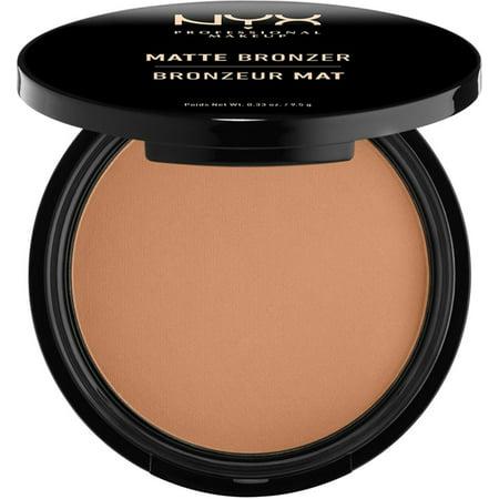 NYX Professional Makeup Matte Bronzer, Light 0.33