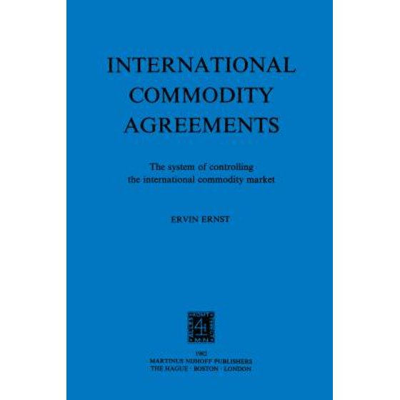 role of international commodity agreements