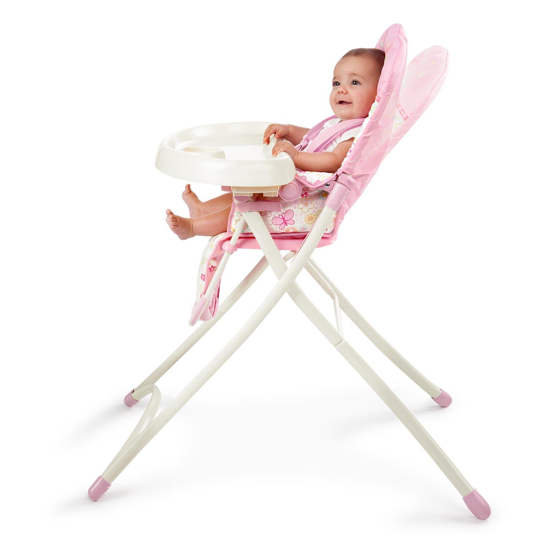 sc 1 st  Walmart & Bright Starts Flutter Dot High Chair - Walmart.com