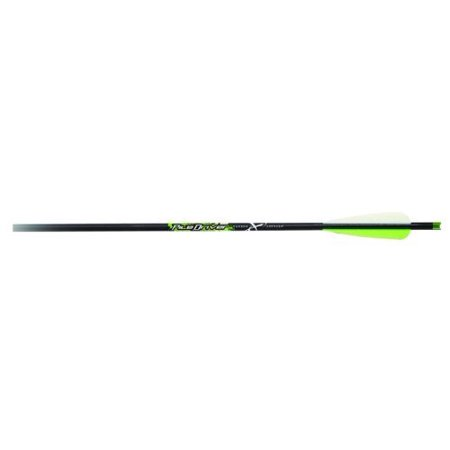 Carbon Express 52138 Piledriver 20-Inch Cross Bolt with Moon Nock and 4-Inch Vanes