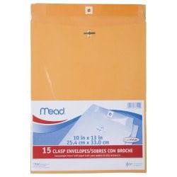 Mead Clasp Envelopes, 10 x 13
