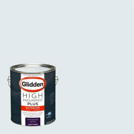 Glidden High Endurance Plus Exterior Paint And Primer Dove White 10bb 83 020
