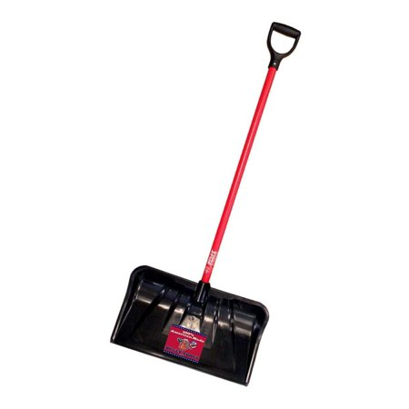 92814Walmartbination Snow Shovel with Fiberglass D-Grip Handle, 22-Inch, 100% Made in the USA By Bully Tools
