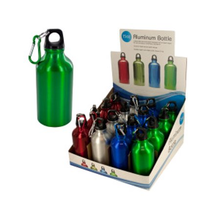 15 oz. Aluminum Water Bottle Countertop Display