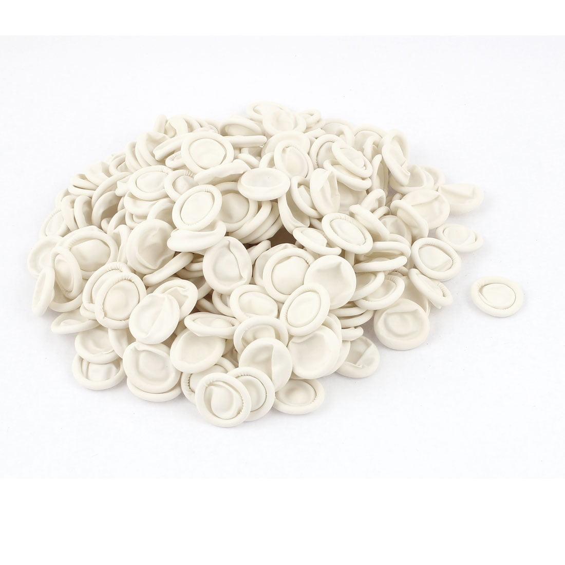 Unique Bargains Anti Static Disposable Latex Finger Cots Tips Covers White 268pcs