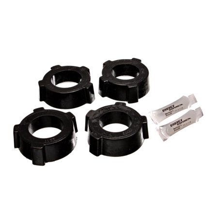 Energy Suspension 53-68 VW (Air Cooled) Swing Axle Suspension Black Rear Spring Plate Bushing Set