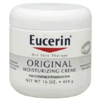 Eucerin Original Hand and Body Moisturizer 16 Ounce Jar Unscented Cream, 72140000021 - SOLD BY: PACK OF ONE
