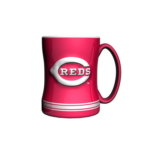 Boelter MLB Boxed Relief Sculpted Mug