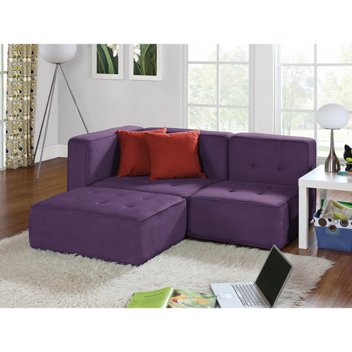 your zone loft collection comfy lounger, deluxe purple