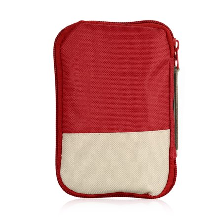 Camping Hiking Travel Home Outdoor Survival Kits Emergency Pouch Case First Aid Kits Bag - image 5 of 7