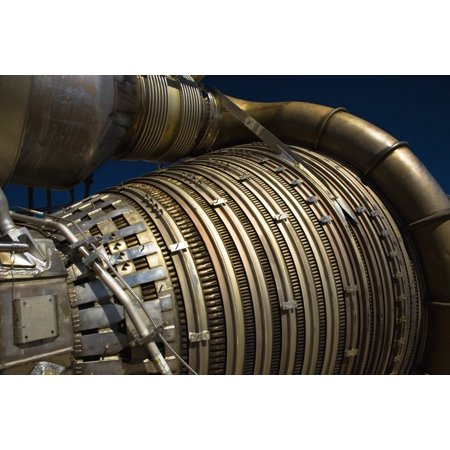 Close-up view of a rocket engine Canvas Art - Roth RitterStocktrek Images  (18 x 12)