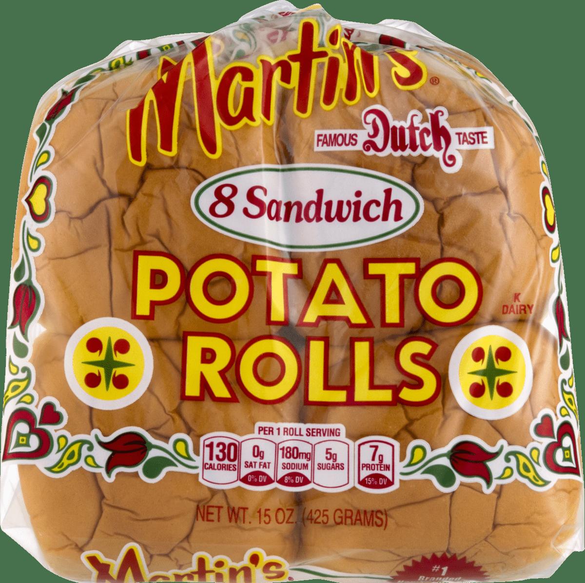 Martin's Potato Sandwich Rolls- 8pk 15 oz (3 bags)