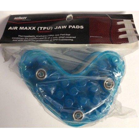 NEW AiR Maxx TPU Schutt Football Helmet Jaw Pads - One Pair - 1 1/8â€-SHIP N 24 H ()