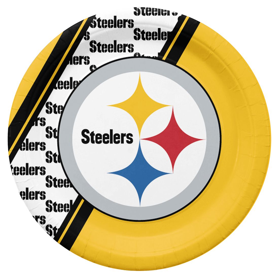 Pittsburgh Steelers Disposable Paper Plates