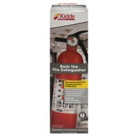 2-Pack Kidde 1A10BC 2.5-lb. Basic Use Fire Extinguisher Rust Resistant, Multipurpose, Lightweight