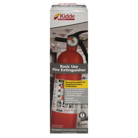 Kidde 1a10bc basic use fire extinguisher, 2.5 lbs. 2