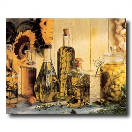 Olive Oil & Sunflower Kitchen Wall Picture Art Print ()