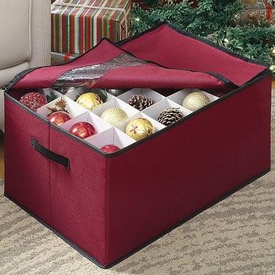 Seasonal Storage - Christmas Ornament Storage