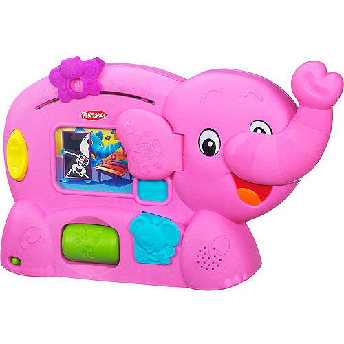 Playskool Learnimals ABC Adventure Elefun Toy, Pink