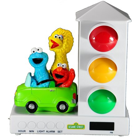 Its About Time Stoplight Sleep Enhancing Alarm Clock for Kids, Elmo & (The Wiggles Its Time To Wake Up Jeff)