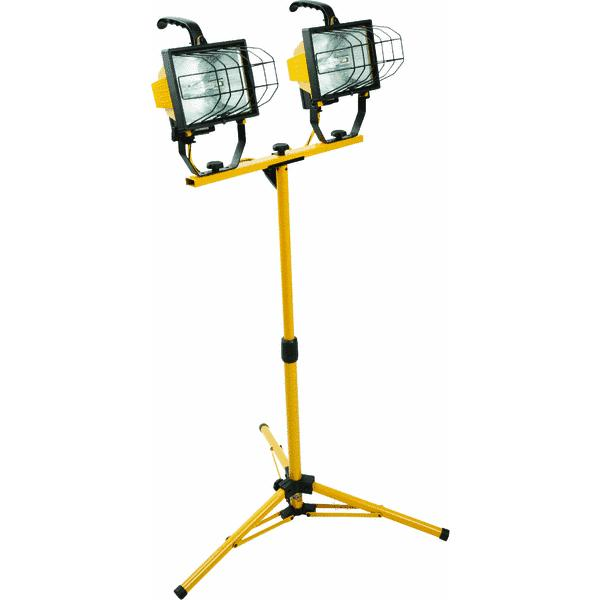 Designers Edge Portable Fluorescent Work Light: Pro-Series 60 LED Rechargeable Cordless Work Light