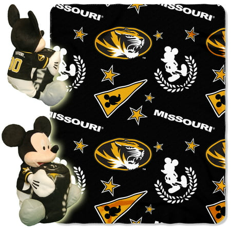 Disney NCAA Missouri Tigers Hugger Pillow and 40