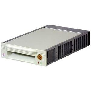 "CRU DataPort V Plus Removable Drive Enclosure - 1 x 3.5"" - 1/3H Internal - Internal - Black"
