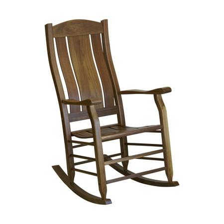 Magnificent Hinkle Carrington 240 Slat Back Wood Patio Rocking Chair Theyellowbook Wood Chair Design Ideas Theyellowbookinfo